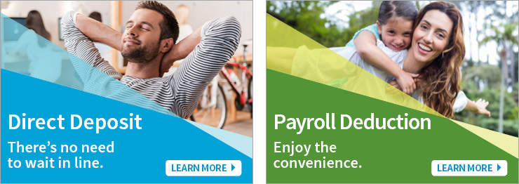 Direct Deposit or Payroll Deduction
