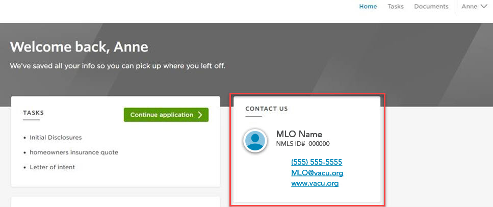 how to contact your MLO