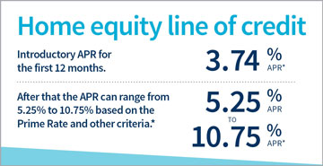 Home equity line of credit.