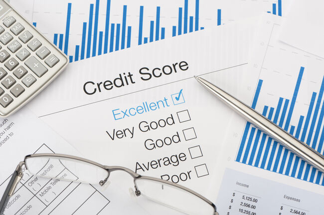 credit score rating scale