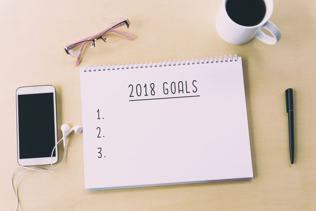 A New Years Resolution List